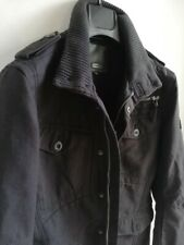 Men's Firetrap Coat Black Heavy Jacket Size Small Lightly Used V.Good Condition