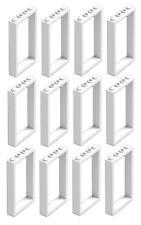 ☀️NEW LEGO X12 WHITE Door Frame 1x4x6 City Building Friends Home Bulk Parts