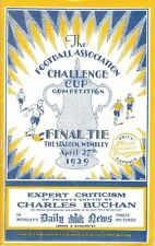 * 1929 FA CUP FINAL PROGRAMME - BOLTON WANDERERS v PORTSMOUTH *