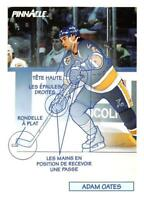 1991-92 Pinnacle French NHL Hockey Trading Cards Pick From List 251-Inserts (B)