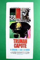 L04 Plakat Truman Capote Die Korruption Vice und Of Violence Vic Morrow Grie