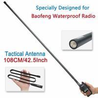 "42.5"" ABBREE SMA-Female taktisch Antenne For Baofeng UV-XR UV-9R Walkie Talkie"