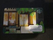 Starbucks Cafe Scene Gift Card - New, Unloaded