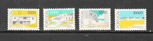 Portugal Stamps 1985 Traditional Architecture Complete as issued MNH