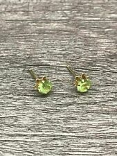 Earrings w. Green Stones New listing