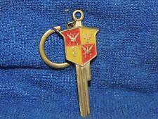 Original vintage 1950s Desoto automobile brass key auto promo accesories