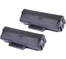 2 x MLT-D104S High Yield Toner Cartridge for Samsung ML-1665 ML-1865W SCX-3205W