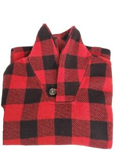 """Old Navy Kids (6-7) Boys  Long Sleeve Red checker pattern Sweater 19"""" long"""