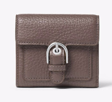 NWT Michael Kors Cooper Medium Leather Carryall Card Holder/Wallet Cinder $118