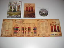 AGE OF EMPIRES III Apple MAC DVD Rom Macintosh Boxed sl AOE 3  - FAST POST