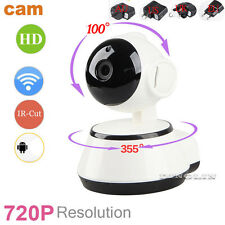 Outdoor 720P Wireless WIFI IP Camera SD Slot Network Night Vision CCTV Security
