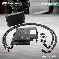 For BMW 3 SERIES 335I E90 E92 N54  25 Row Bolt On Oil Cooler Kit Upgrade Black