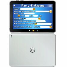 German Trendseller® - 6 x Tablet Einladungskarten   Kindergeburtstag   Mitgebsel