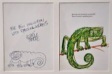 ERIC CARLE ORIGINAL ARTWORK~THE MIXED-UP CHAMELEON (The Very Hungry Caterpillar)