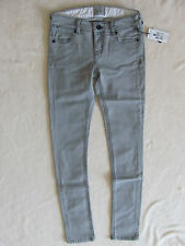 Burton Lorimer Slim Jeggings Stretch Tapered Jeans-Monument Gray-Size 25-NWT $65