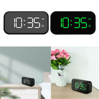Snooze Sveglia digitale Schermo LED da 5 pollici Porta USB Display a cifre