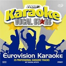 Zoom Karaoke Eurovision Song Contest Series 21 New Sealed
