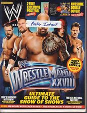 WWE Magazine April 2012 Wrestlemania XXVIII The Rock, Daniel Bryan 040317nonDBE