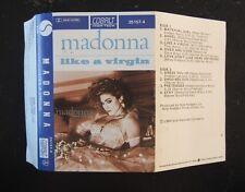 Cassette Madonna Like a Virgin 1984 CAT# Sire 25157-4 Australian Release