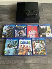 Sony PlayStation 4 PS4 500GB CONSOLE - Bundle with 7 games
