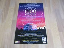 The NIGHT of 1000 VOICES Highlights of SONDHEIM Royal ALBERT Hall Theatre Poster