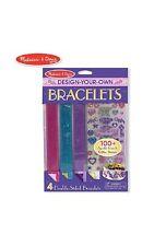 Set of 3 Packs Melissa & Doug Design-Your-Own Bracelets Kit Kids' Arts & Crafts
