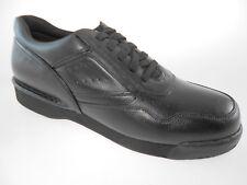 ROCKPORT PROWALKER K71096 CLASSIC MEN'S BLACK LEATHER WALKING SHOES WIDE(W)