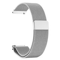 Stainless Steel Mesh Watch Band Strap Adjustable Magnetic Clasp Wristband