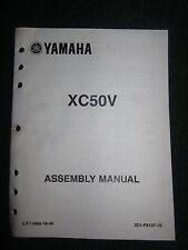 2006 Yamaha Scooter Set Up Assembly Manual Vino XC50V DEALER