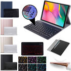 """For Samsung Galaxy Tab S7 Plus 12.4"""" 11"""" TB-T870/T970 Keyboard With Case Cover"""