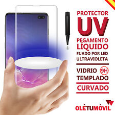 Screen protector uv led samsung galaxy note 8/note 9 oletumovil