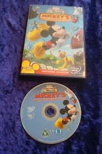 DVD.MICKEY'S GREAT CLUBHOUSE HUNT.MICKEY MOUSE CLUBHOUSE.DISNEY.UK REGION 2 DVD.