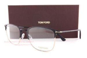 Brand New Tom Ford Eyeglass Frames 5453/V 002 Matte Black Men Women Size 54mm