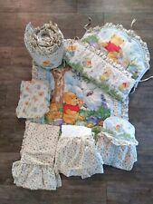 Disney Baby Winnie The Pooh Crib Comforter Quilt Bedding Nursery Set