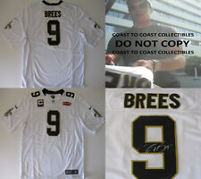 Drew Brees New Orleans Saints signed autographed football Jersey,COA exact proof