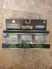 Pokemon Trainer's Choice Mini Figure 3-Pack Treecko Grovyle Sceptile Case VHTF