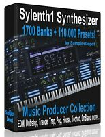 1700 Banks + 110,000 Presets for Sylenth FL Studio, Reason Ableton Cubase Logic