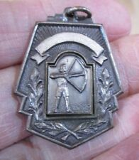 1956 1st Place Bowman Archery Medal marked Ish Bowhunting Bowhunter >