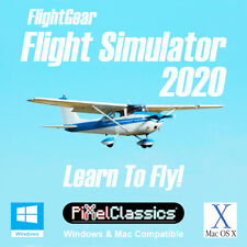 Learn To Fly Cessna Private Pilot License Plane Flying Training Flight Simulator