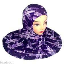 2-tlg Kopftuch Islam Muslim Kopfbedeckung Hijab Niqab Khimar Gebetstuch Tuch