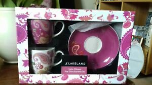 Lakeland Indian Odyssey espresso set
