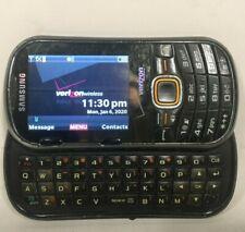 Samsung Intensity II Verizon Cellular Phone Slide Slider SCH-U460 Deep Gray BT