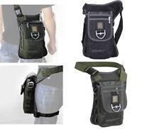 Men's Women's Multi-function Nylon Leg Bag Messenger Shoulder Waist Bag Outdoor