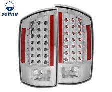 ANZO L.E.D Tail Lights Chrome For Dodge Ram 1500 06-08 / Ram 2500/3500 07-09