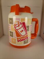 Dunkin Donuts 64oz Travel Tumbler Jug XL Insulated Mug Coffee Cup