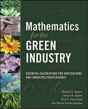 Mathematics for the Green Industry: Essential Calculations for Horticulture and