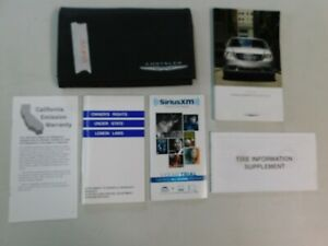 2015 Chrysler Town & Country User Guide Owners Manual with Supplements & Holder