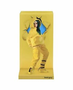 Billie Eilish Bad Guy 10.5 inch Doll, Yellow Hoodie And Blue Hair W/Stand 56221