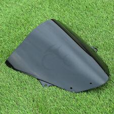 Black Windshield Wind Screen For Kawasaki ZX6R ZX-6R 2009-2014 ZX-10R 2008-2010