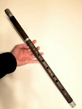 Signature Walnut Wood Low D Irish Tin Penny Whistle Tunable Flute wooden celtic